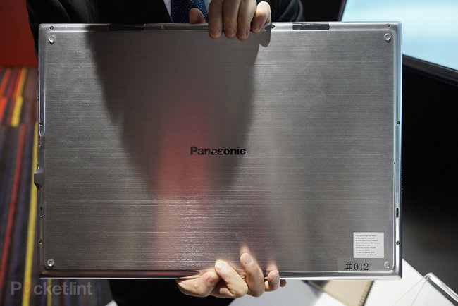 Panasonic 4K 20-inch tablet pictures and hands-on - photo 7