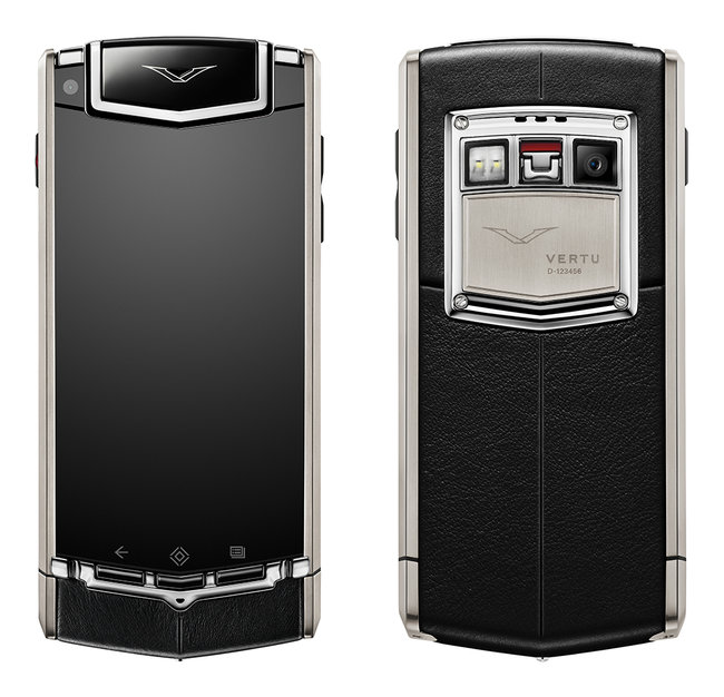 Vertu Ti now official: First super luxury Android smartphone - photo 2