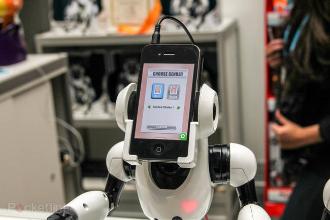 WowWee RoboMe: iPhone controlled robot that lets you call home - photo 4