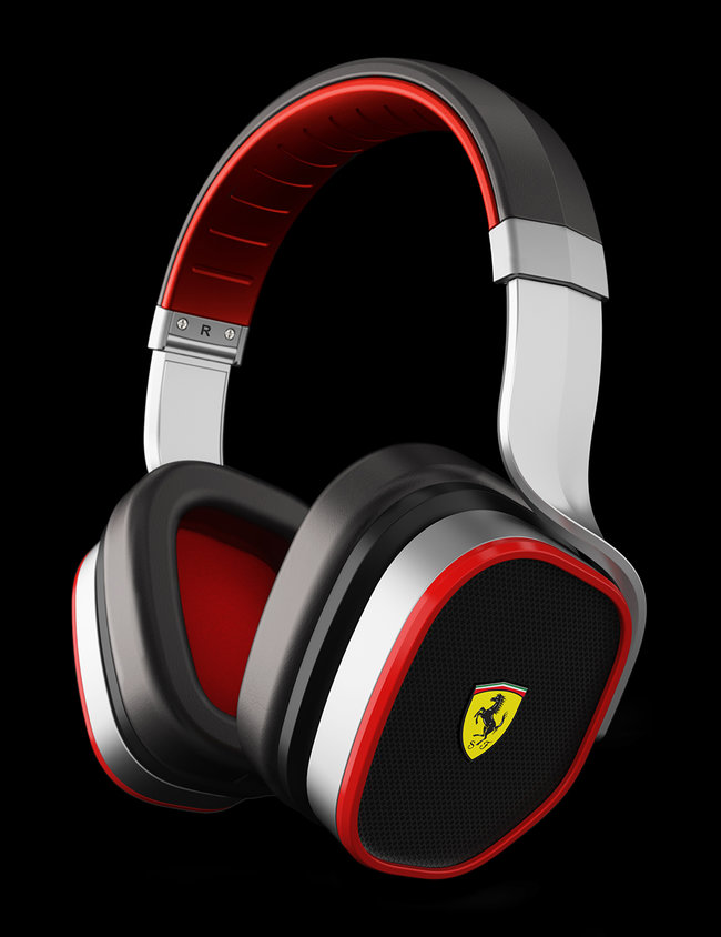 Logic3 bolsters Ferrari F1 headphone range with noise-cancelling R300 - photo 2