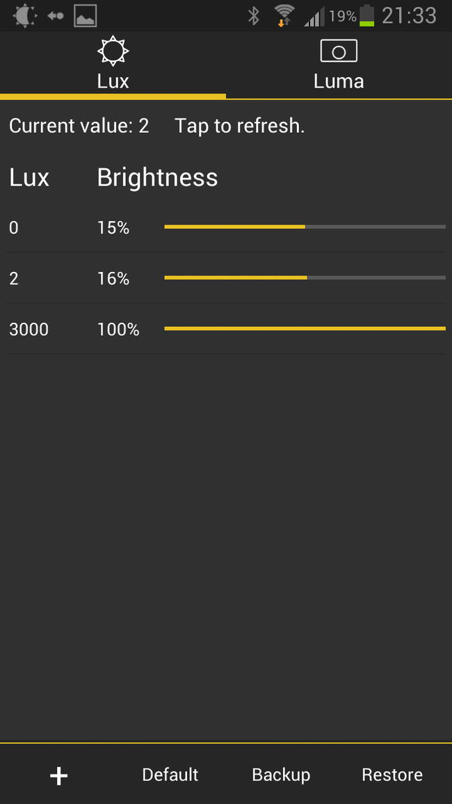 APP OF THE DAY: Lux review (Android) - photo 6
