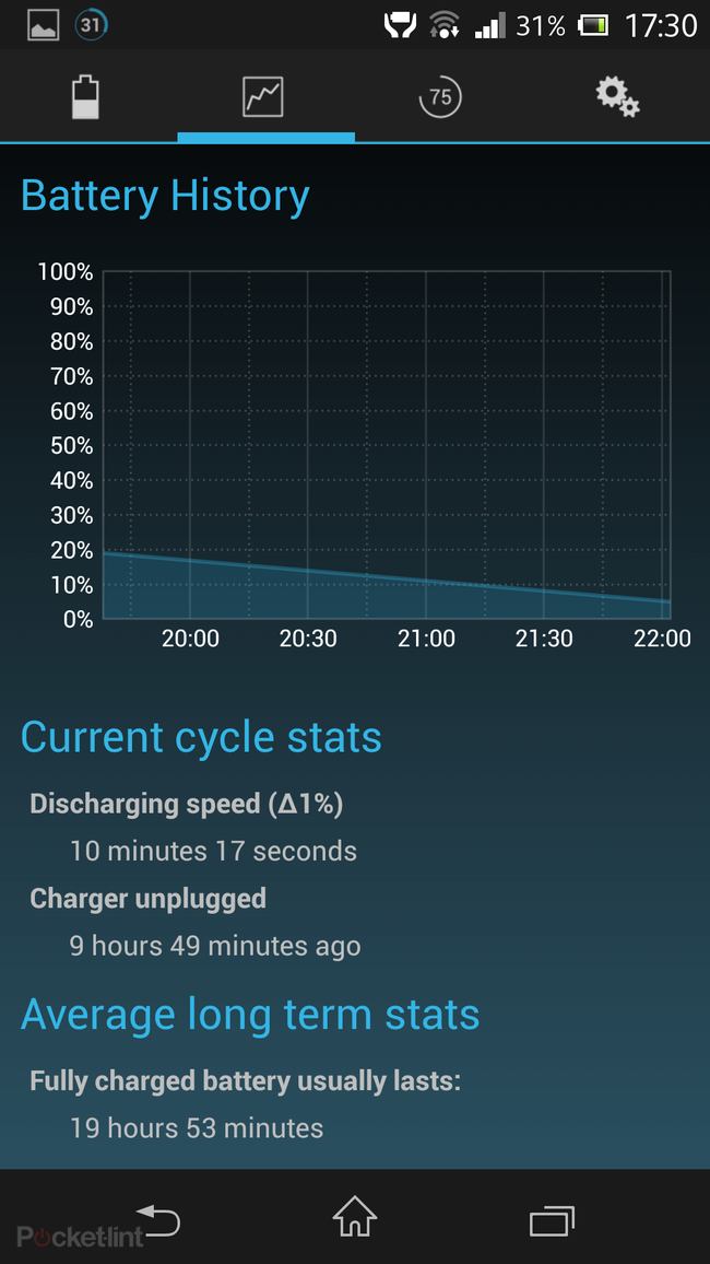 APP OF THE DAY: Battery Widget Reborn review (Android) - photo 3