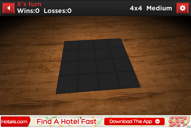 APP OF THE DAY: Tic Stac Toe review (iPhone) - photo 2