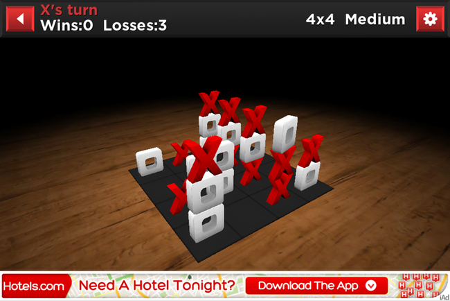APP OF THE DAY: Tic Stac Toe review (iPhone) - photo 4