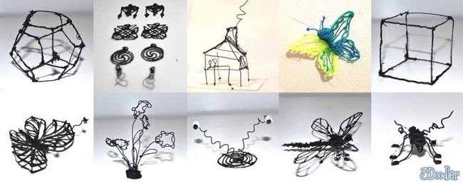WobbleWorks announces the world's first 3D printing pen, shipping in September for $50 - photo 3