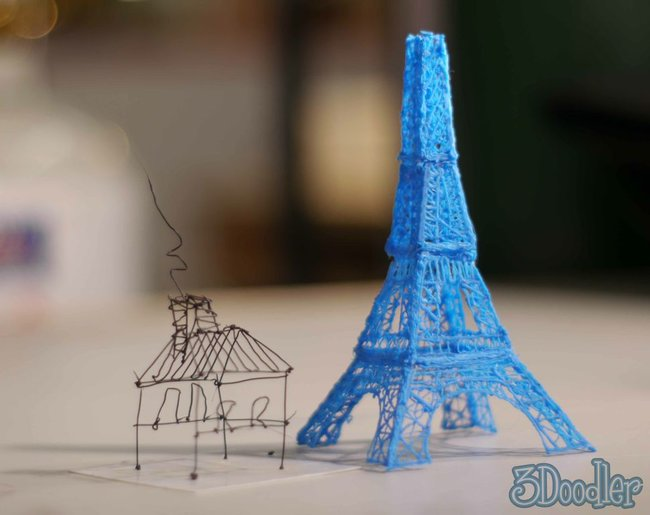 WobbleWorks announces the world's first 3D printing pen, shipping in September for $50 - photo 6