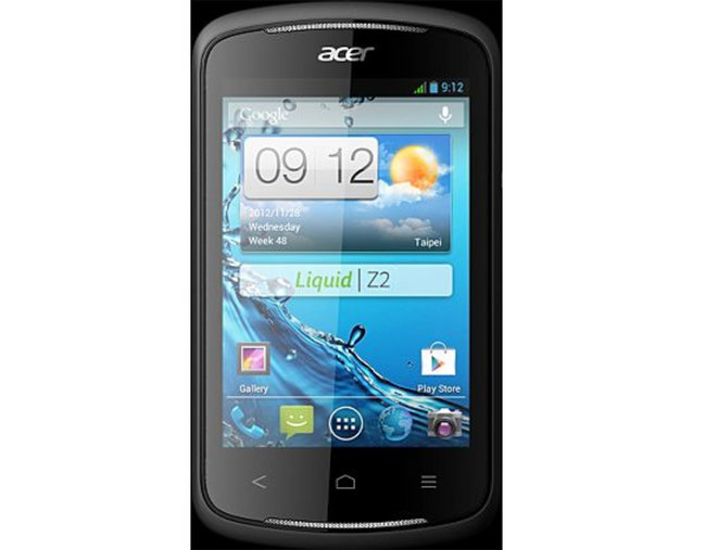 Acer Liquid E1 and Z2 official - European launch confirmed - photo 2
