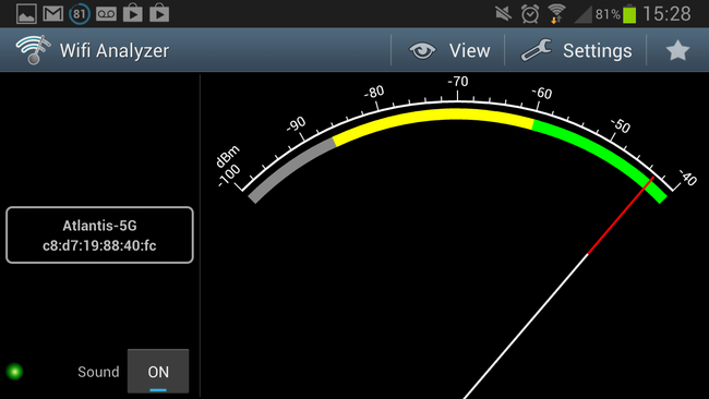 APP OF THE DAY: Wifi Analyzer review (Android) - photo 4