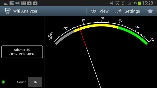 APP OF THE DAY: Wifi Analyzer review (Android) - photo 6