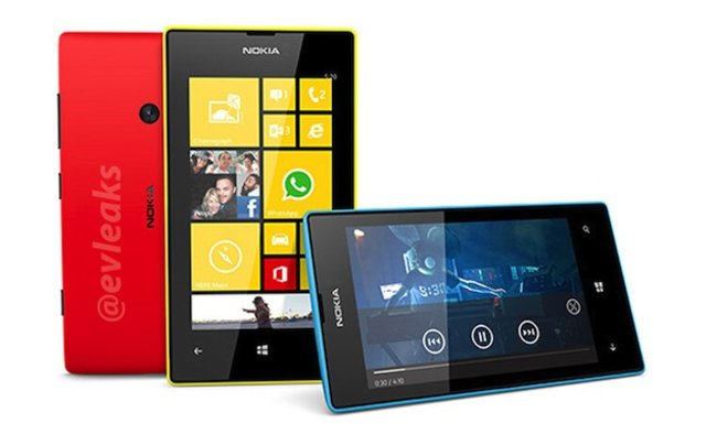 New Nokia 520 and 720 models for 2013 leak in press images - photo 2