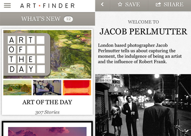 APP OF THE DAY: Artfinder review (iPhone) - photo 1