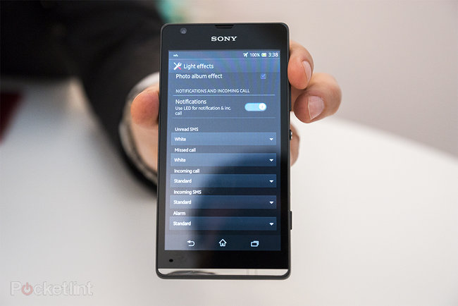 Sony Xperia SP pictures and hands-on - photo 13