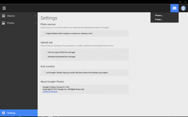 Google+ Photos app for Chrome previewed, brings auto-uploading, best shot selection - photo 4