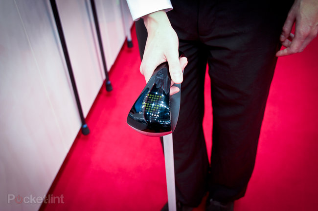Fujitsu GPS walking stick pictures and hands-on: Next-generation cane - photo 3