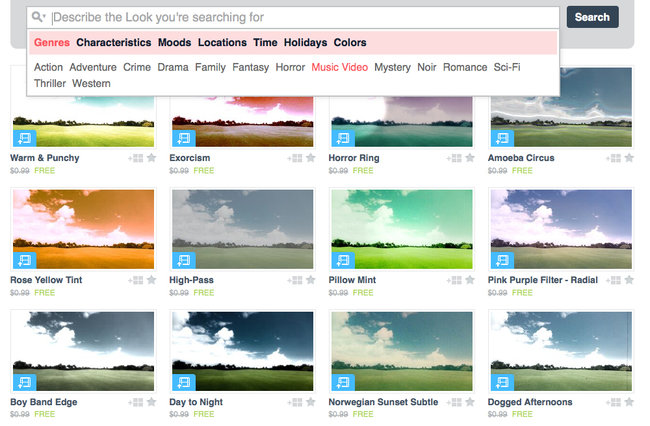 Vimeo cloud-based editing tools: new 'Looks' enhancement presets available to trial - photo 2