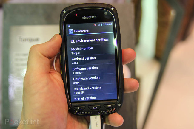 Kyocera Torque pictures and hands-on - photo 6