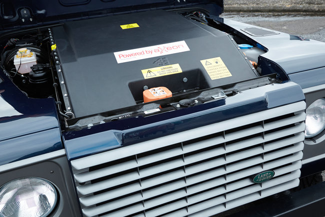 Land Rover Electric Defender Research Vehicle unveiled at Geneva Motor Show - photo 3