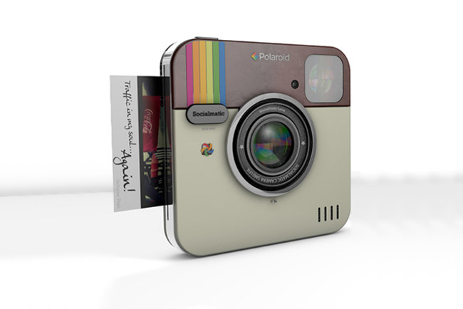 Socialmatic Instagram camera concept to become real thanks to Polaroid tie-in - photo 1