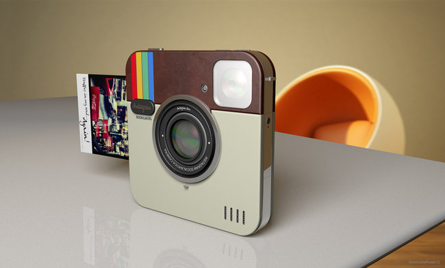 Socialmatic Instagram camera concept to become real thanks to Polaroid tie-in - photo 3