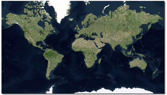 Bing Maps improved with high-resolution satellite imagery and ocean typography - photo 4