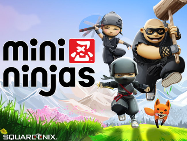 APP OF THE DAY: Mini Ninjas review (iPhone, iPad) - photo 1