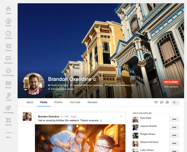 Google+ updated with local reviews tab and larger cover photos - photo 4