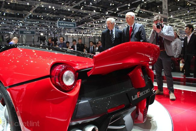 Ferrari LaFerrari pictures and eyes-on - photo 19