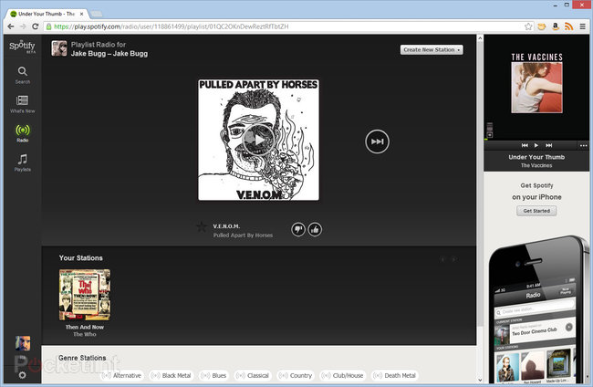 Spotify Web Player now live in UK, play your music through a browser - photo 4