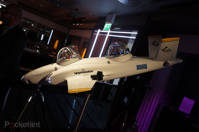Spymaster Orcasub: The $2 million made-to-order private submarine shown as mock-up at Harrods - photo 6