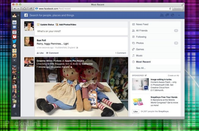 Hands-on: New Facebook News Feed explored - photo 1