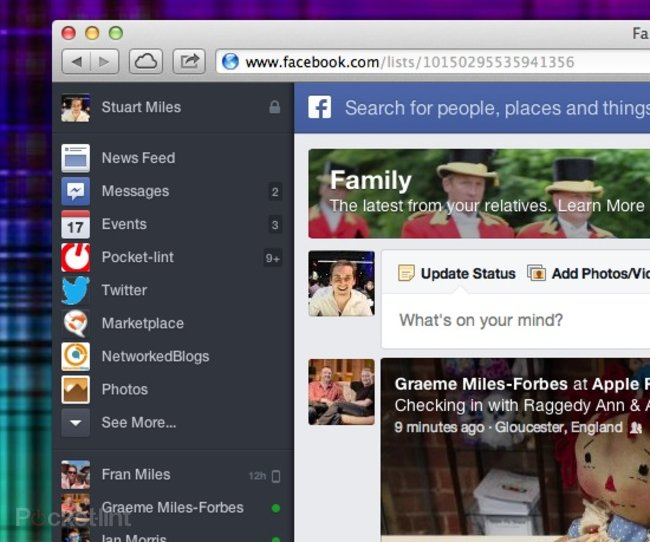 Hands-on: New Facebook News Feed explored - photo 5