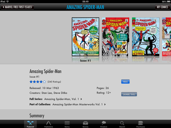 Get 700 free Marvel comics on your iPhone, iPad or Android device - photo 3