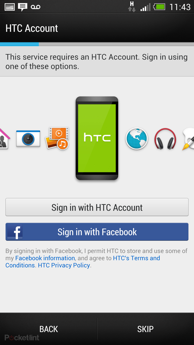 How to setup your HTC One: HTC Transfer Tool, Sync Manager or Get Started online - photo 8