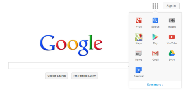 Google tests design without navigation bar - photo 2