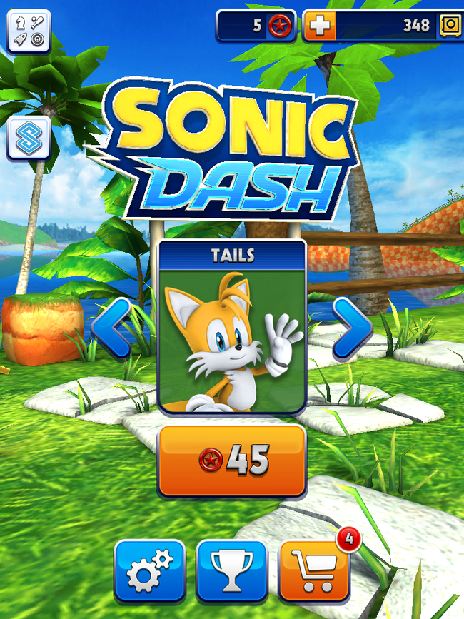 App of the Day: Sonic Dash review (iPhone, iPad) - photo 3