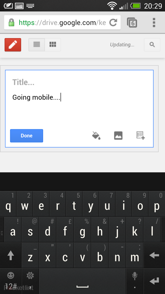 Google Keep notetaking service officially announced for web and Android - photo 4