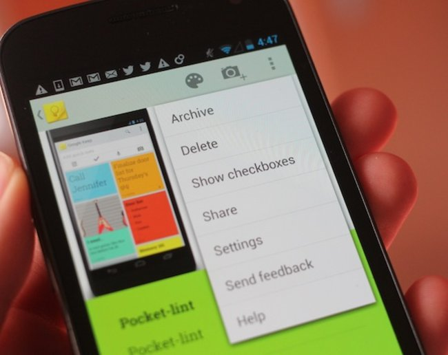 Google Keep notetaking service officially announced for web and Android - photo 6