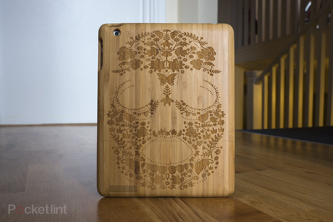 Etch laser-cut bamboo iPad case looks tres cool: Personalise your Apple device - photo 1