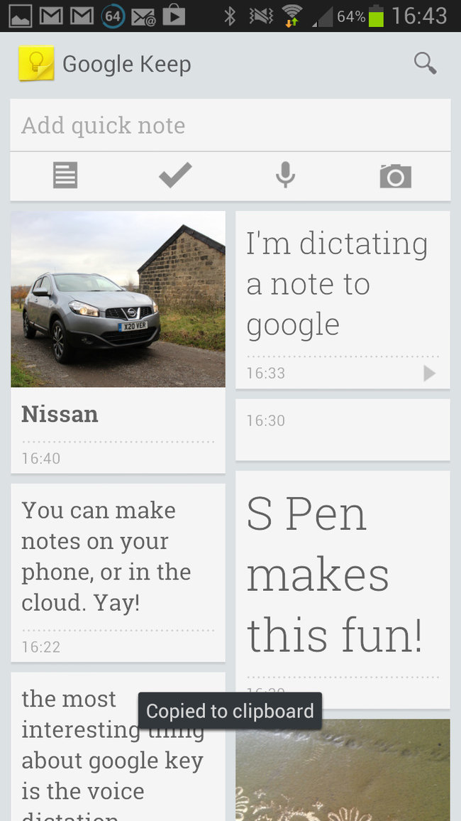 App of the day: Google Keep review (Android) - photo 10