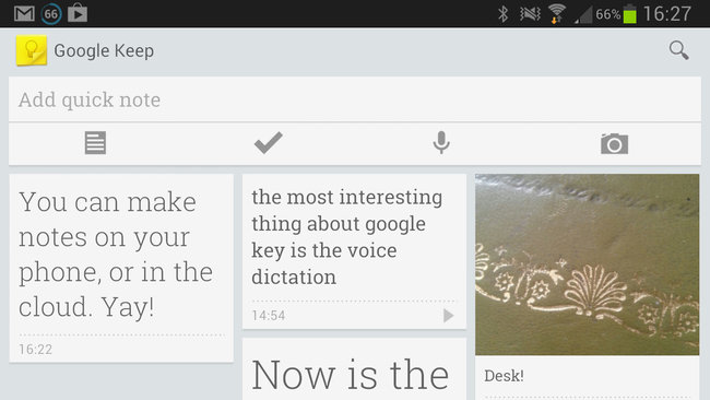 App of the day: Google Keep review (Android) - photo 2