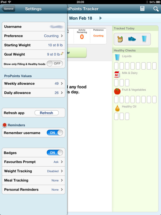 App of the day: Weight Watchers review (iPad/iPhone) - photo 2