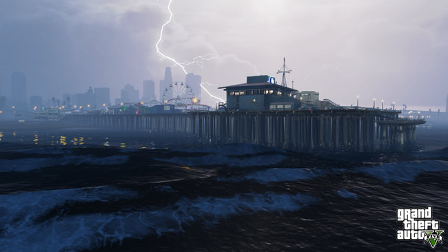 New GTA V screens released, scuba diving, sky diving and other stuff that isn't diving - photo 10