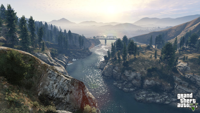 New GTA V screens released, scuba diving, sky diving and other stuff that isn't diving - photo 5