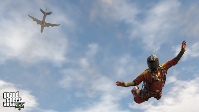 New GTA V screens released, scuba diving, sky diving and other stuff that isn't diving - photo 8