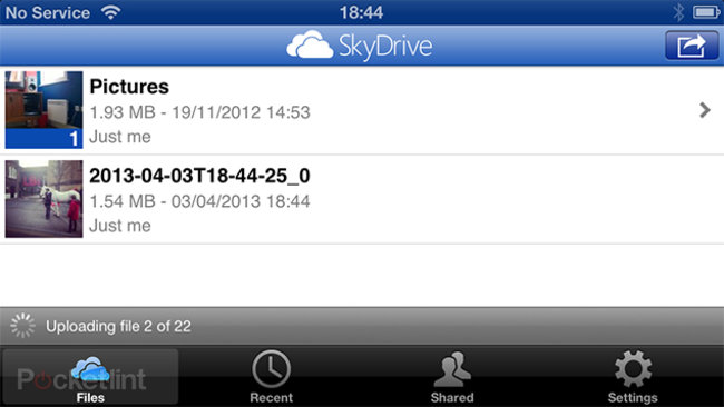 App of the day: SkyDrive review (iPhone, Android, Windows Phone) - photo 1