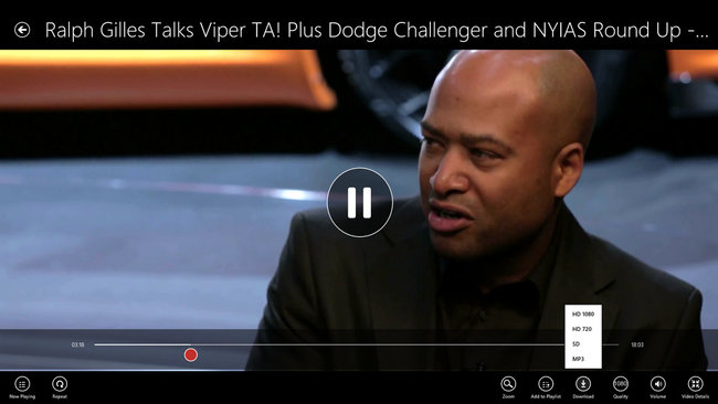 App of the day: YouTube RT review (Windows 8) - photo 13