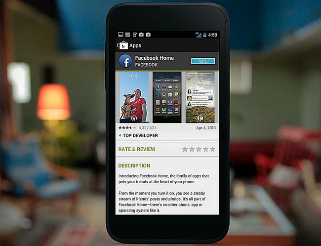 What is Facebook Home? And how to get it on your existing Android phone - photo 3