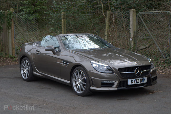 Mercedes-Benz SLK 55 AMG roadster - photo 1