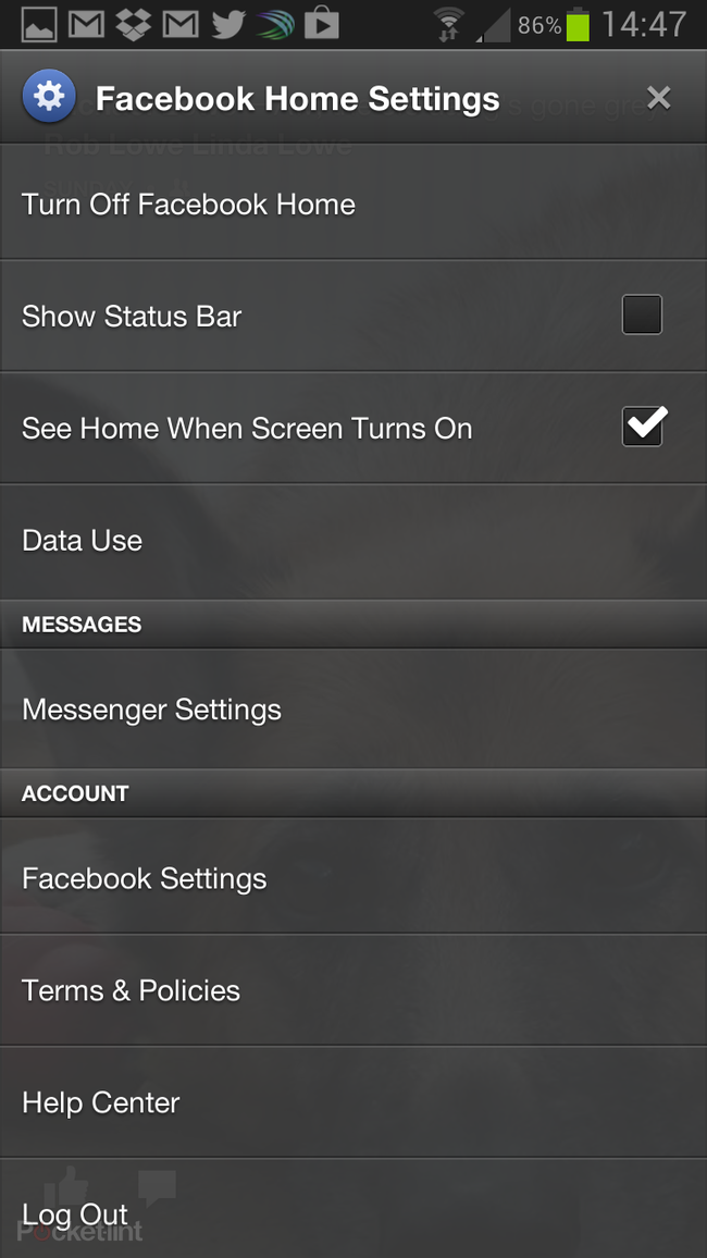 Facebook Home review: Explored from the inside - photo 11