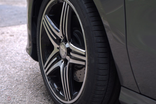 Mercedes A Class 250 BlueEFFICIENCY engineered by AMG pictures and hands-on - photo 5